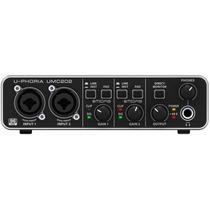 Umc202 Interface De Audio Usb Behringer U-phoria Pré Midas