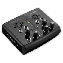 M-audio M-track Interface Gravação Audio Midi Usb Novo