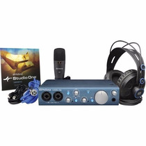 Presonus Audiobox Itwo Studio Kit De Gravação Completo
