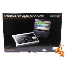 Interface De Audio Roland Cakewalk Mobile Studio Canvas