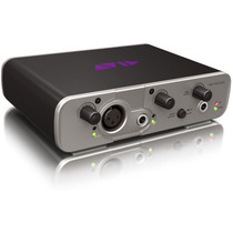 Placa De Audio Avid Fast Track Solo, Interface Fastrack Som