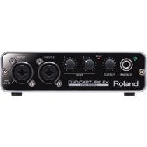 Roland Ua-22 Duo Capture Ex - Interface De Áudio Usb + Nfe