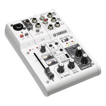 Mesa De Som E Interface Yamaha Ag03 | Lançamento | Usb | Nfe