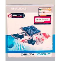 Placa De Som Delta 1010lt M-audio Pro Tools - Nova Lacrada