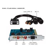 Placa M-audio Audiophile 2496 Loja Cheiro De Musica !!