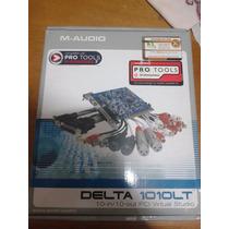 Placa De Som Delta 1010lt M-audio Pro Tools