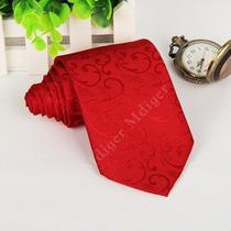 Gravata Seda Mantie - Vermelha