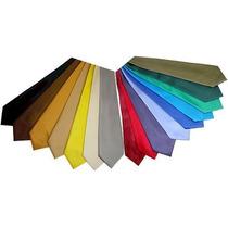 Kit Com 20 Gravatas Seda Alta Qualidade, 40 Cores Diferentes