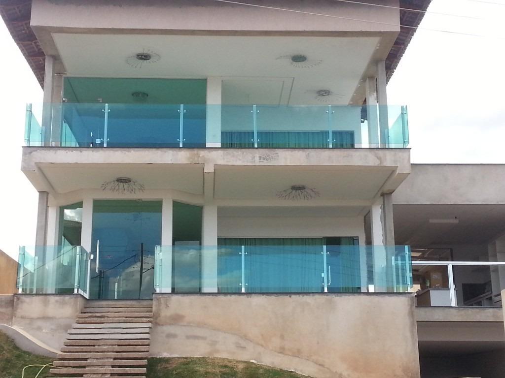 Guarda Corpo Sacada E Escada Em Vidro A Partir De R$399 00m² R$ 1  #407180 1024x768 Banheiro Com Blindex Verde