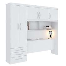 Guarda-roupa Modulado Casal Com 5 Portas - Branco - Herval
