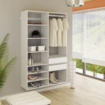 Closet Prateleira/cabides/gavetas Kt1206 - Super Closets