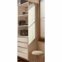 Closet Com Gavetas E Prateleiras Kt618 - Super Closets