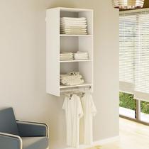 Closet Prateleira Com Cabideiro Kt602 - Super Closets
