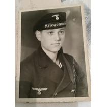 Segunda Guerra ! Foto De Marinheiro Alemão -submarinista !