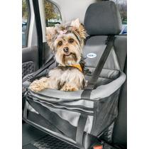 Assento Cadeira Auto Pet Para Cães E Gatos Transpet Em Couro