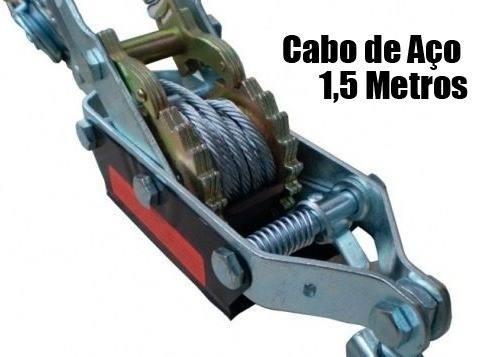 Guincho Manual Tifor 2t Com Catraca - Tracão E Levantamento