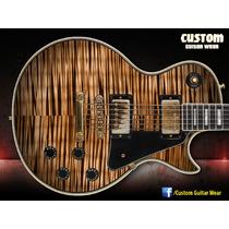 Adesivo Flamed Maple Para Guitarra, Baixo E Violão