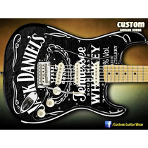 Skin Para Guitarra, Baixo E Violão - Jack Daniels