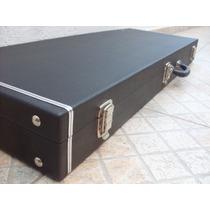 Case Rígido Em Madeira Para Guitarra - Solid Sound