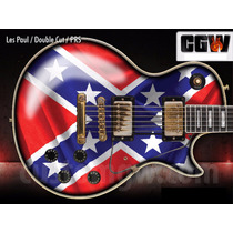 Rebel Flag Zakk Wylde Adesivo Guitarra Baixo Violao