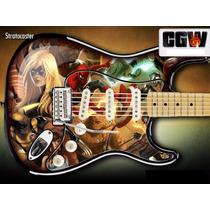 Marvel Comics Skin Adesivo Guitarra Baixo Violao