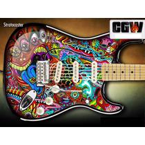Color Pintura Skin Adesivo Guitarra Baixo Violao