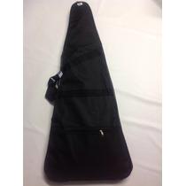 Kit Capa Para Guitarra E Violão Marca Clássico Acolchoada