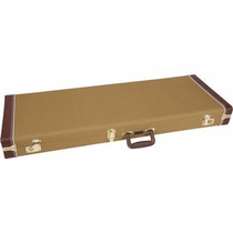 Case Para Guitar Tele/stratocaster Pro Series Tweed Fender
