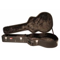 Estojo Hard Case Gator Deluxe P/ Violão Jumbo - Gw Jumbo