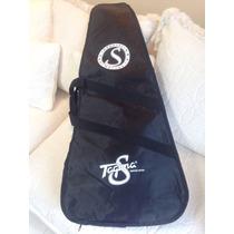 Capa Bag Guitarra Tagima Special Nylon Tambem P/ Contrabaixo