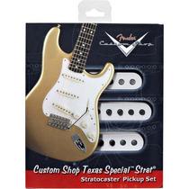 Set De Captadores Para Guitarra Texas Special Strat Branco