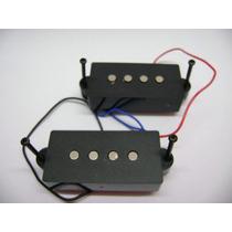 Captador Baixo Precision Bass Estilo Fender Kit Completo Phx