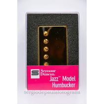 Sh-2n Jazz Model Dourado Gold Seymour Duncan. Posição Braço.