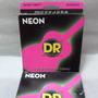 Cordas De Violão Aço Dr Neon Rosa 0.10/0.48 Npa-10