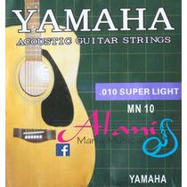 Encordoamento Violão Yamaha Mn10 010 - Alanis Mania Musical