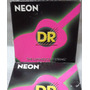 Cordas Dr Neon 0.11/0.50 Violão Aço Rosa