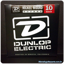 Encordoamento Guitarra 010/046 Dunlop,revenda Autorizada!
