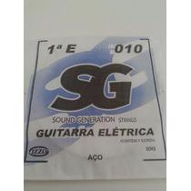 Corda Avulsa 1a Mi 010 P/ Guitarra Elétrica
