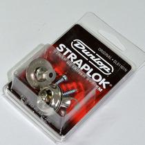 Straplok Original Design Niquelada Dunlop P/ Guitarra|baixo