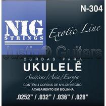 Cordas Nig Para Ukulelê - N304 - .0252 - .028