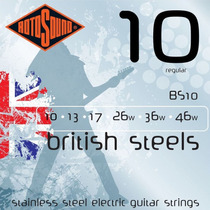 Encordoamento Guitarra Rotosound Bs10 .010/.046 British Stee