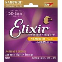 Corda Elixir 0.11 Nanoweb - Violão