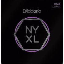 Encordamento Guitarra Nyxl Daddario 011 Wgmusicstore