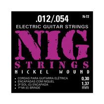 Cordas Nig Para Guitarra - Traditional Class - N-72 - .012