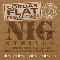 Cordas Nig Flat Ngf 810 P/ Guitarra - .010 - .048