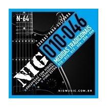 Encordoamento Nig Para Guitarra - 010 - Cordas - N64