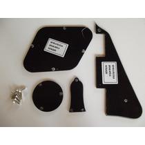 Escudo Les Paul Standard Epiphone 1 Camada Preto Kit