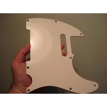 Escudo Telecaster Age White Sandwiche (padrão Fender Mesmo!)