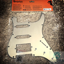 Escudo Guitarra Strato Hss Espelhado,revenda Autorizada!