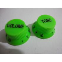 Knob Strato Verde Modelo Jem Ibanez Kit Volume+tom